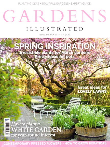 Gardens Illustrated Cover - 3/1/2014