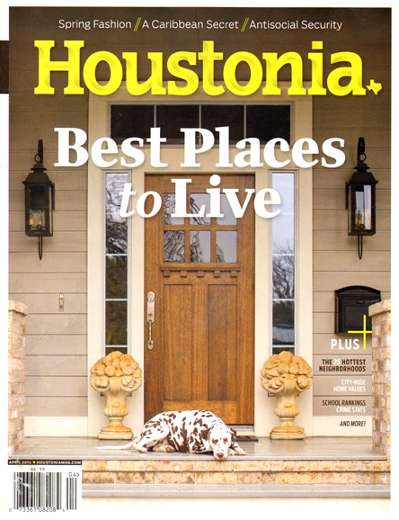 Houstonia Cover - 4/1/2014