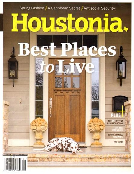 Houstonia Cover - 4/1/2014