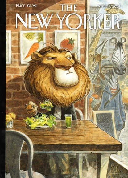 The New Yorker Cover - 4/7/2014