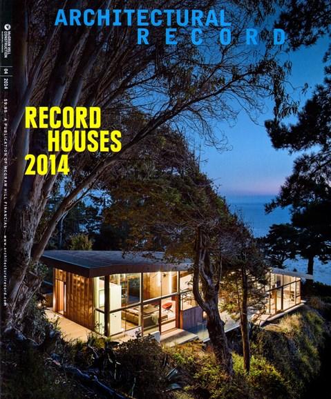 Architectural Record Cover - 4/1/2014
