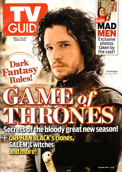 TV Guide Cover - 4/7/2014