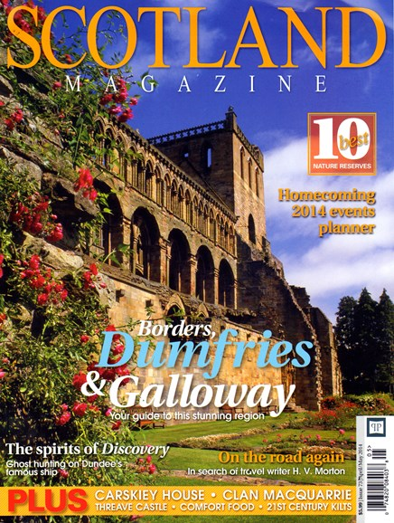 Scotland Magazine Cover - 4/1/2014