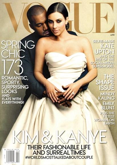 Vogue Cover - 4/1/2014
