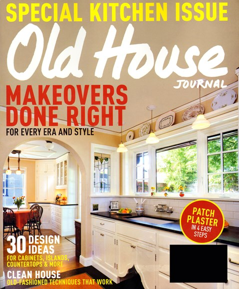 Old House Journal Cover - 4/1/2014