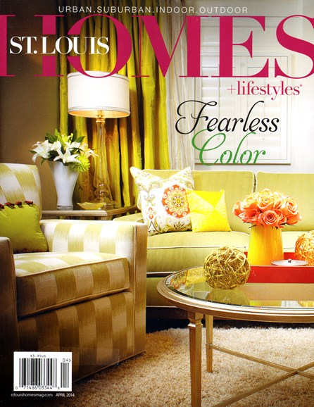 St. Louis Homes & Lifestyles Cover - 4/1/2014