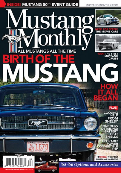 Mustang Monthly Cover - 4/1/2014