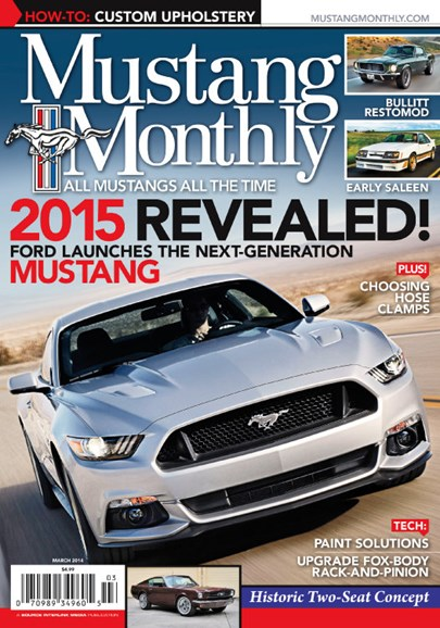 Mustang Monthly Cover - 3/1/2014