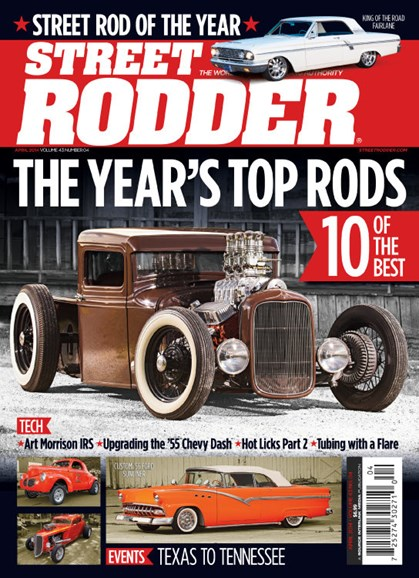 Street Rodder Cover - 4/1/2014