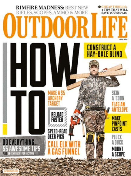 Outdoor Life Cover - 4/1/2014