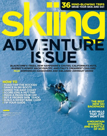 Skiing Cover - 12/1/2013