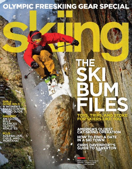 Skiing Cover - 1/1/2014