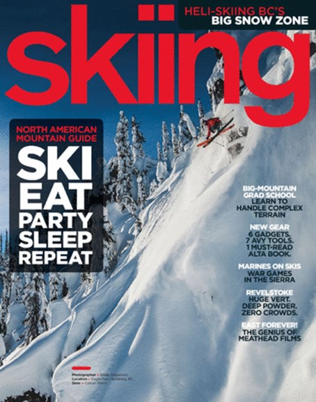 Skiing Cover - 11/1/2013