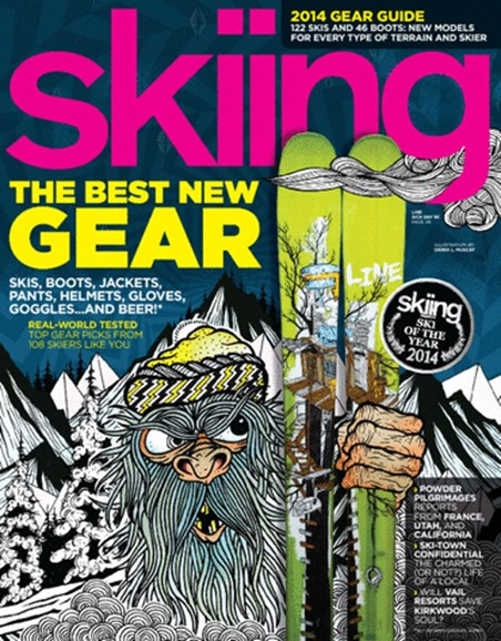 Skiing Cover - 10/1/2013