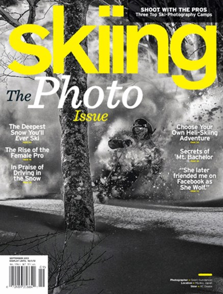 Skiing Cover - 9/1/2013