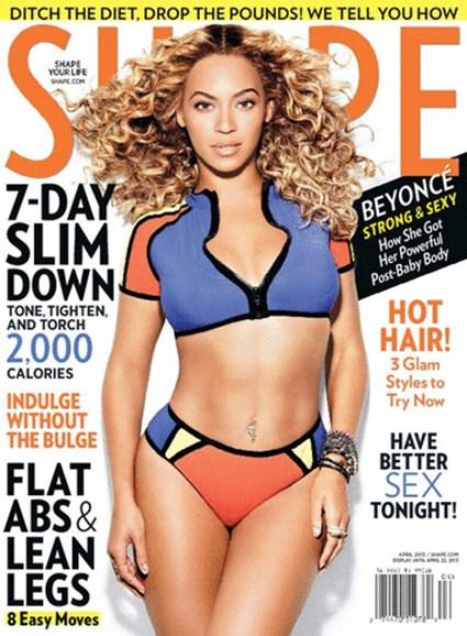 Shape Cover - 4/1/2013