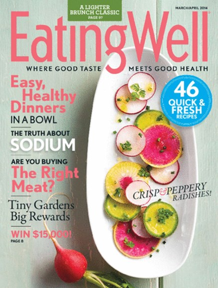 EatingWell Cover - 4/1/2014