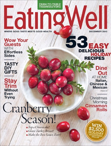 EatingWell Cover - 12/1/2013