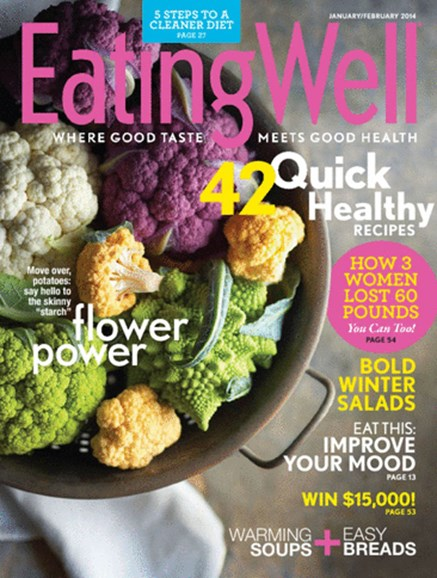 EatingWell Cover - 1/1/2014