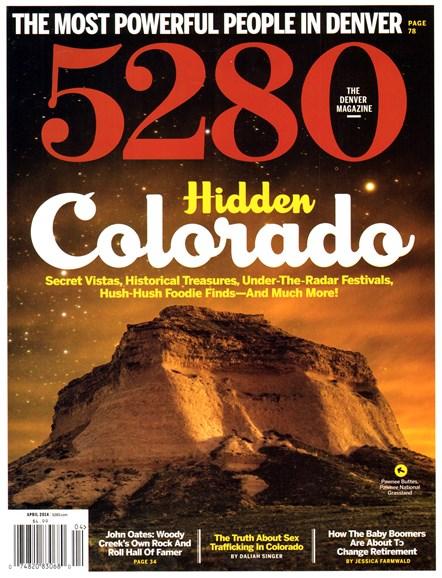 5280 Magazine Cover - 4/1/2014