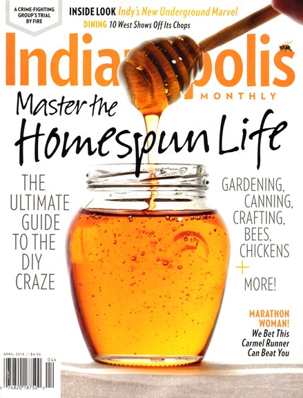 Indianapolis Monthly Cover - 4/1/2014