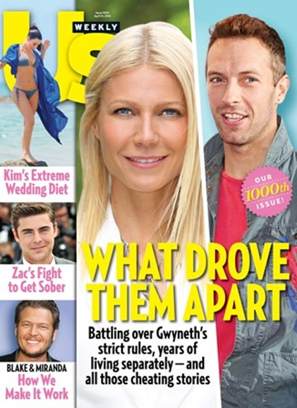 Us Weekly Cover - 4/14/2014