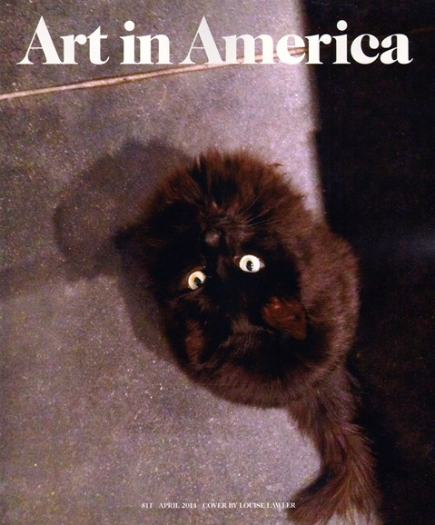 Art In America Cover - 4/1/2014