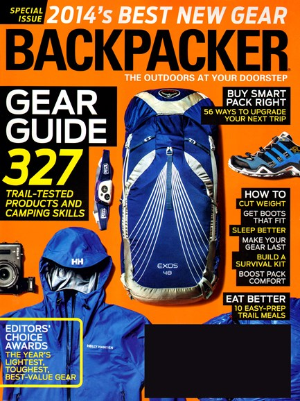 Backpacker Cover - 4/1/2014