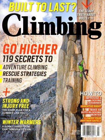 Climbing Magazine Cover - 3/1/2014