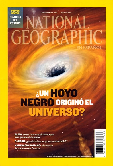 National Geographic En Español Cover - 4/1/2014
