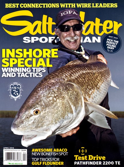 Salt Water Sportsman Cover - 4/1/2014