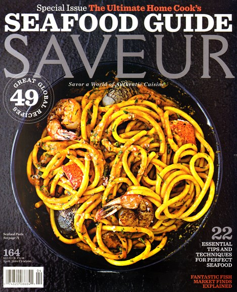 Saveur Cover - 4/1/2014