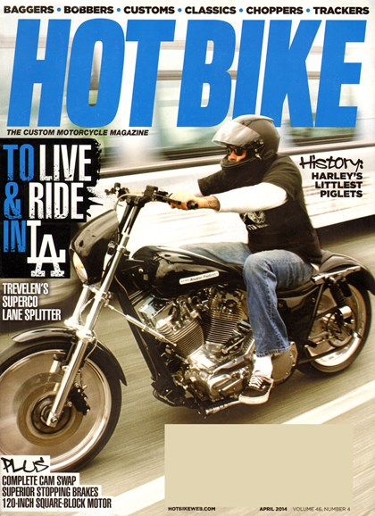 Hot Bike Cover - 4/1/2014