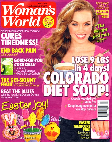 Woman's World Cover - 4/21/2014
