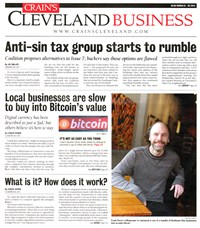 Crain's Cleveland Business | 3/24/2014 Cover
