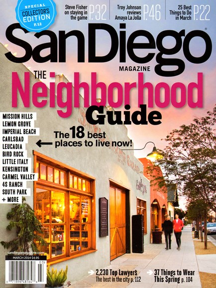 San Diego Cover - 3/1/2014