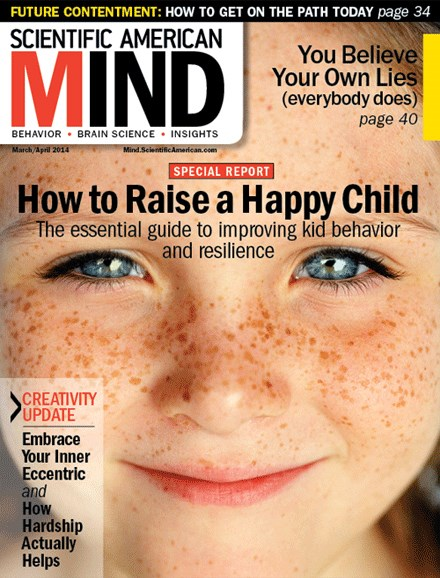 Scientific American Mind Cover - 3/1/2014