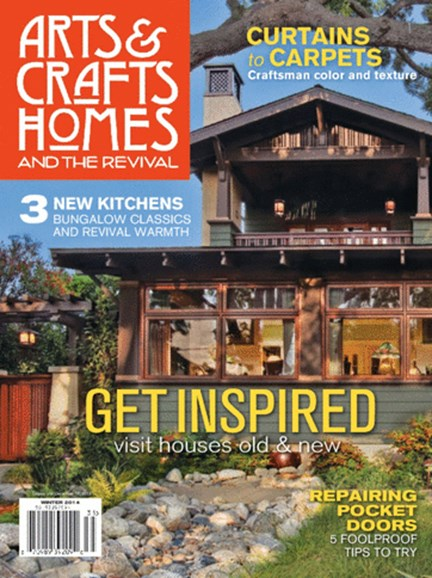 Arts & Crafts Homes Cover - 12/1/2013