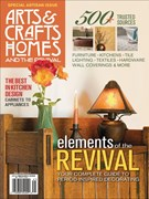 Arts and Crafts Homes Magazine 1/1/2014
