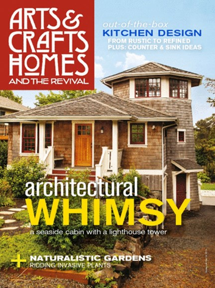 Arts & Crafts Homes Cover - 3/1/2014