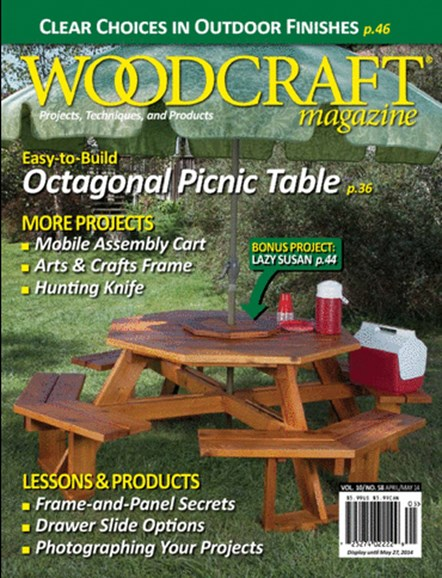 Woodcraft Cover - 4/1/2014