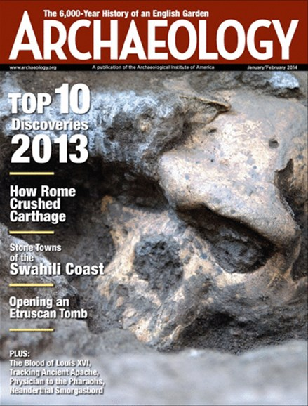 Archaeology Cover - 1/1/2014