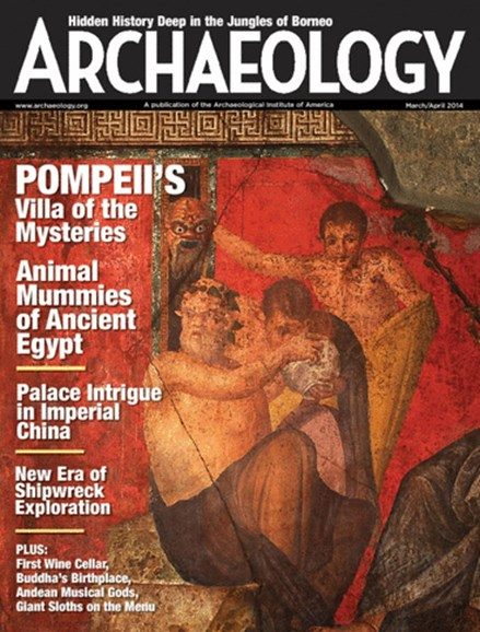 Archaeology Cover - 3/1/2014