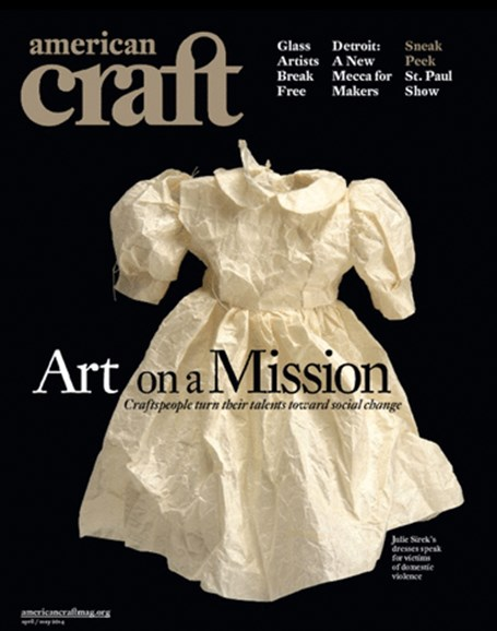 American Craft Cover - 4/1/2014