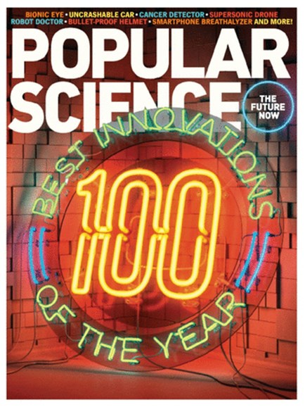 Popular Science Cover - 12/1/2013