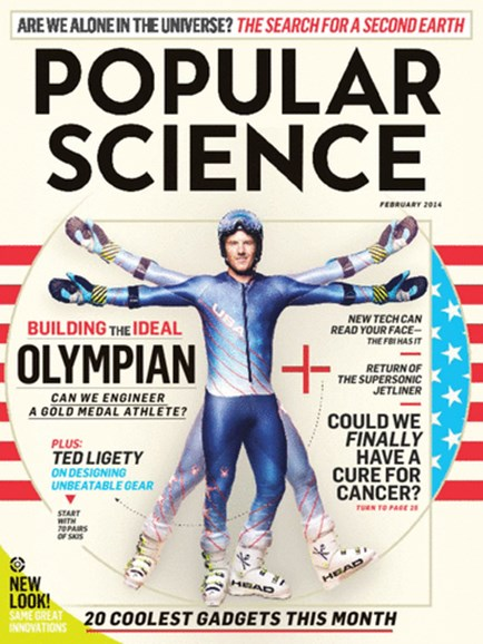 Popular Science Cover - 2/1/2014