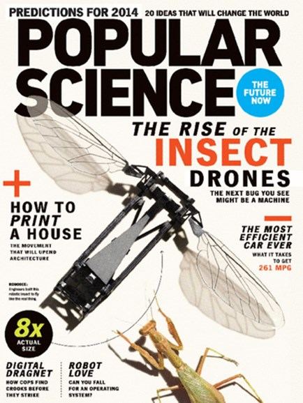 Popular Science Cover - 1/1/2014