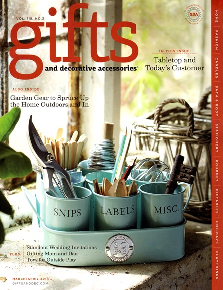 Gifts And Decorative Accessories Cover - 3/1/2014
