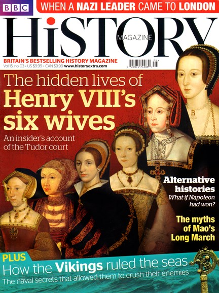 BBC History Cover - 3/1/2014