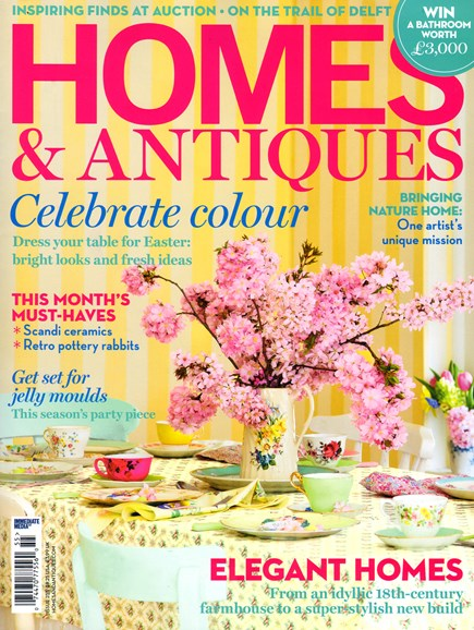 Homes & Antiques Cover - 4/1/2014